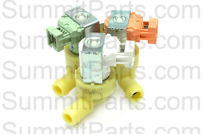 3 Way, 110V Original Elbi Inlet Valve For Wascomat Washers - 823654