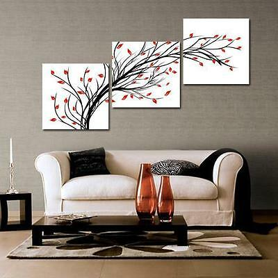 Hot Sell!New Modern Abstract Huge Art Oil Painting Canvas 3pcs