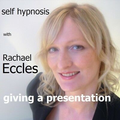 Self Hypnosis:Giving a Presentation Hypnotherapy CD, Rachael Eccles