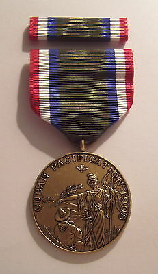 1908 U.S. Navy Cuban Pacification Medal with RIBBON