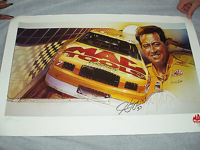 Harry Gant Autographed Mac Tools Print - Limited Edition