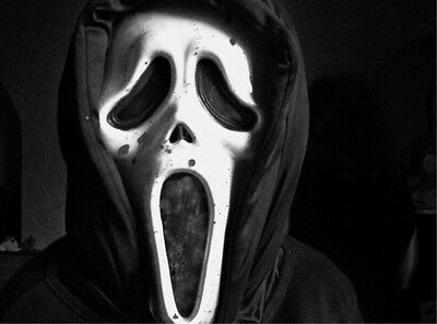 SCREAM 1 Ghost Face Mask 8x10 1996 Horror Movie Photo - Scary!!