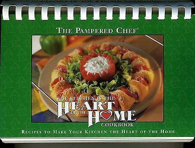 The Kitchen is the Heart of Home - Parmpered Chef Ckbk
