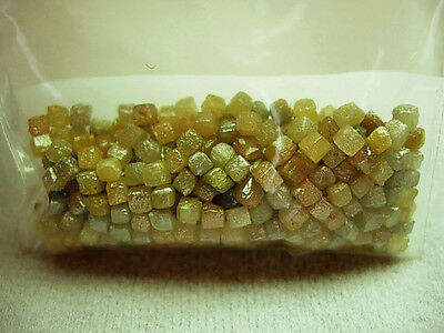 57.66 Carats 324 PREMIUM Congo Raw Natural Uncut ROUGH DIAMONDS Cubes Gems 5-7pc