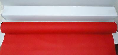 40M x 1.15M Red 'Linen Feel' airlaid Banquet Roll. Tableware/Tabletop.