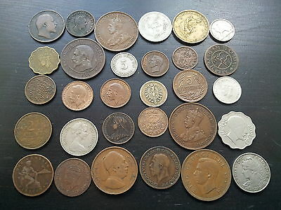 British & World Coins Choice Pick Choose Your Own From List (1F)