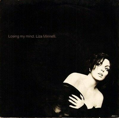 """LIZA MINNELLI losing my mind/tonight is forever ZEE 1 uk epic 7"""" PS EX/EX"""