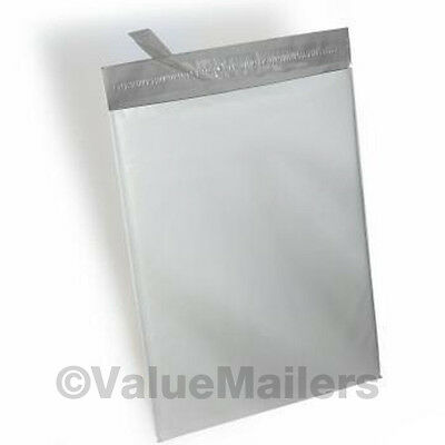 1000 Bags, 6x9, 7.5X10.5 Poly Mailers Envelopes Plastic Bags White Self Seal Bag