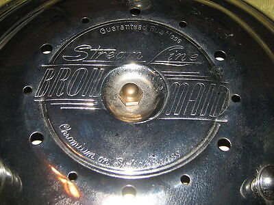 VTG Stream Line Broil Maid Electric Plug In Broiler Chrome Brass