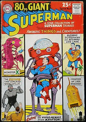 80 Page Giant #6 Vg+ Superman