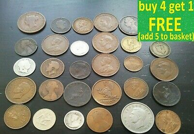 British & World Coins Choice Pick Your Own Choose (6F)