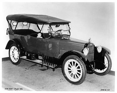 1919 Nash Six 682 Touring Factory Photo ad0397