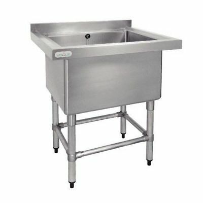 Sink, 100L Deep Pot Stainless Steel, Commercial Kitchen Equipment