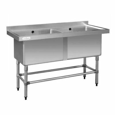 Sink, Double 100L Deep Pot Stainless Steel, Commercial Kitchen Equipment