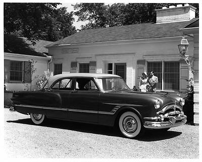 1953 Packard Cavalier Automobile Photo Poster Z1040