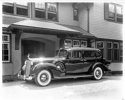 1938 Packard 12 Touring Sedan Automobile Photo Poster Z1381