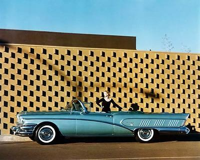 1958 Buick Limited Convertible Automobile Photo Poster Z1614