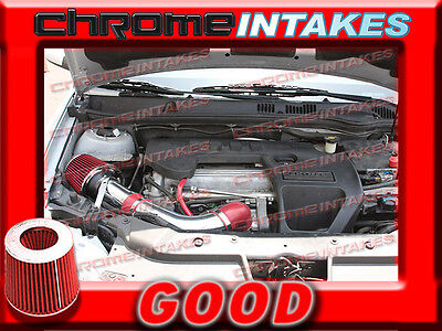 08-12 Chevy Malibu 2.4L Without Air Pump Red Cold Air Intake K/&N Air Filter
