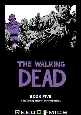 THE WALKING DEAD VOLUME 5 HARDCOVER New Hardback Collects #49-60 Robert Kirkham