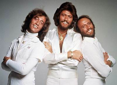 Bee Gees - Andy & Barry & Maurice Gibb Music Group 8X10 Glossy Photo