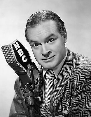 Bob Hope - Nbc - Tv Comedian Actor Singer Radio 8X10 Photo