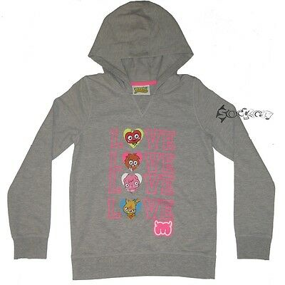 Girls Moshi Monsters Hoody Hooded Top Sweatshirt Ages 4-13 Yrs Love Poppet Luvli