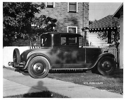 1928 Nash Coupe Factory Photo ad0830