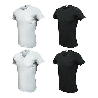 """Set 4 Pezzi T-SHIRT Uomo """" TUEMME """" Cotone MADE IN ITALY Varie Taglie DD"""