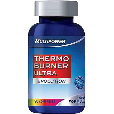 Thermo Burner Ultra Evolution Multipower Termogenico 90 Compresse Offerta!!