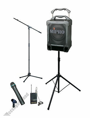 Mipro Ma707-Cd 70W Portable Battery Pa System Package