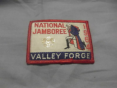 Woven 1964 National Jamboree Pocket Patch