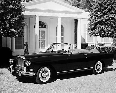 1964 Bentley Continental Mulliner PW Conv Photo Poster Z2346