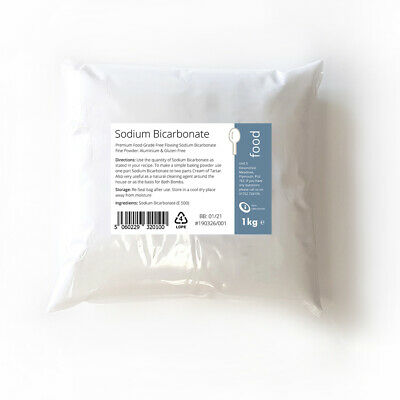 1kg SODIUM BICARBONATE of Soda / BAKING SODA / BI CARB - Fine Powder Food Grade