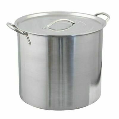 20 Quart Polar Ware Brew Kettle with Lid (5 Gallon) - Stock Pot Kitchenware
