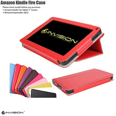 Leather Case Covers for Amazon Kindle Fire 2012 Models Only