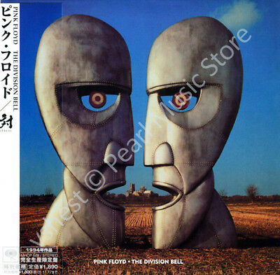 PINK FLOYD THE DIVISION BELL CD MINI LP OBI Gilmour Mason Barrett Waters Wright