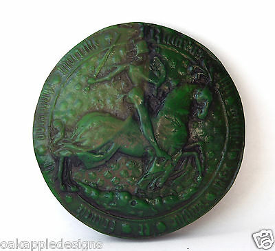 King Richard III Official Wax Seal Medieval Reproduction Collectable Giftware.