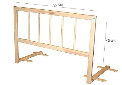 Baby Bed Safety Guard Rail , Handmade , Wooden,Folding , Modell:60-120 cm.