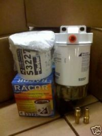Racor 320R-Rac-01 Kit With Extra Element And Fittings