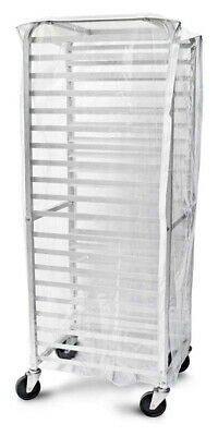 Clear Plastic Rack Cover for 20 Tier Sheet/Bun Pan Rack (Full Size) Heavy Duty