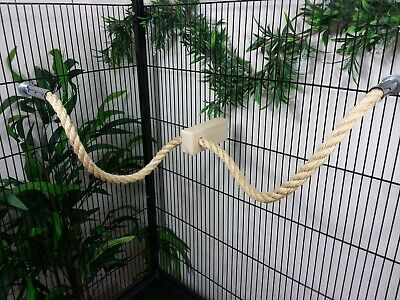 Sisal Rope Parrot & Parakeet Perch Cage Toy 16mm & 20mm Rope