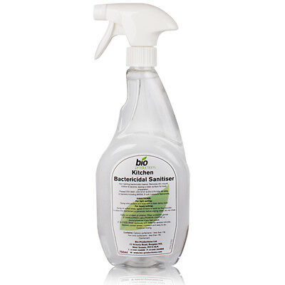Food Safe Anti-Bacterial Disinfectant Kitchen Sanitiser Surface Cleaner 750ml