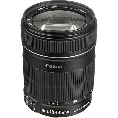 Canon EF-S 18-135mm f/3.5-5.6 IS Standard Wide-Angle Zoom Telephoto Lens, New