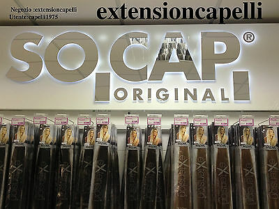 Extension Original Socap 25Ciocche In Cheratina 100% Naturali 50 Cm. 25 Euro
