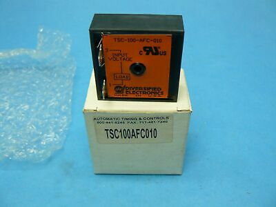 ATC TSC-100-AFC-010 Solid State Relay On-Delay Timer SPST-NC New