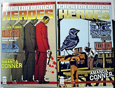 CREATOR OWNED HEROES # 5 Comic Variant Cover A & B ~ 1ST PRINT Image Comics NM