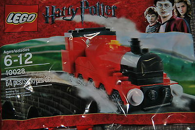 LEGO Harry Potter - MINI HOGWARTS EXPRESS - polybag 40028 NEW unopened package.