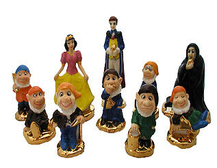 Wade Club Special Snow White Set With Gold Bases Set