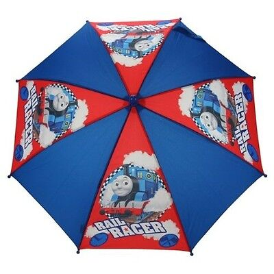 Thomas The Tank 'Rail Racer' School Rain Brolly Umbrella Brand New Gift