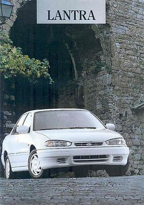 1998 ? Hyundai Lantra Brochure Korea Dutch wp3441-3LZZBA